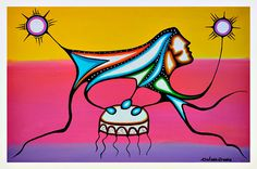 Friends United by Rolf Bouman Native Art, First Nations, Nativity, Disney Characters, Fictional Characters, The Unit, Disney Princess, Friends, Design