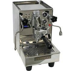 Espresso machine, dual boiler, no burn steam wand