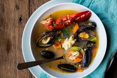 Bouillabaisse is a traditional Provençal (Southeast France) stew, typically made with fish and shellfish. Although it was originally made with rockfish, today it's also made with all sorts of diffe...