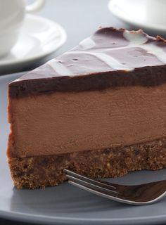coffee+chocolate+cheesecake = perfection