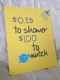 Canvas Quote Bathroom canvas by sparklesome on Etsy, $20.00