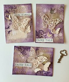 ATC cards - exchange for scrapper. Atc Cards, Pocket Letters, Fairy Tales, Birthday Cards, Mixed Media, Scrap, Lettering, Frame, Blog
