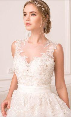 Wedding dress idea; Featured Dress: Rania Hatoum