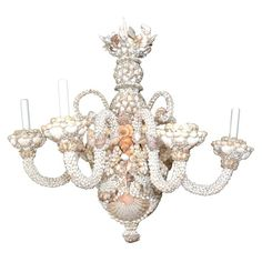 Love this Shell Chandelier!