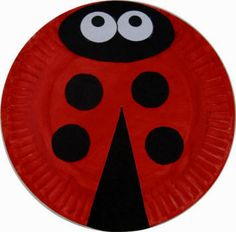 Lady bug craft! #ECE