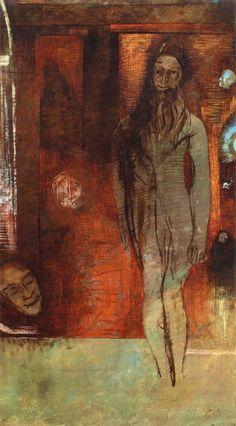 "Odilon Redon - ""Apparition"" 1895"