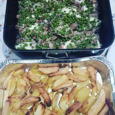 Scaloppine provola&piselli, patate al forno, Milena Miranda e'la Regina della casa, ti amiamo!!!! #bestcooking #bestchef #foodnapoli #foodporn #igersnapoli #instanapoli #napolidavivere #napoliexperience #MilenaMiranda #tiamo