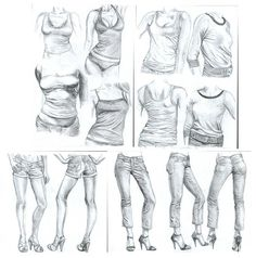 drawing drawing body Mix 01 by ~ZFive on deviantART Drawing Sketches, Art Drawings, Drawing Tips, Fashion Drawing Tutorial, Drawing Studies, Poses References, Figure Drawing Reference, Aesthetic Drawing, Anime Sketch