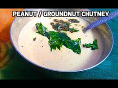 Idly Peanut Chutney / Groundnut Chutney - By TastyAppetite