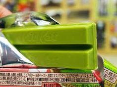 Green tea Kit Kats.