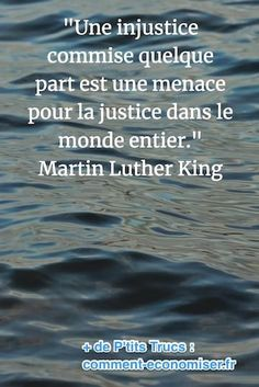 citation de Martin Luther King sur l'injusticeYou can find Martin luther and more on our website. King Quotes, Bible Quotes, Magic Quotes, Best Quotes, Citations Martin Luther King, Injustice Quotes, Daughter Love Quotes, Inspirational Quotes, Motivation