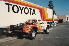 Old School Toyota Off Road Racing