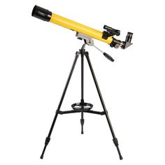 National Geographic Refracting Telescope - Yellow/ Black (50mm)