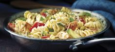 Chicken and Vegetable Rotini (great because all done in one pan)