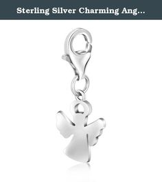 Sterling Silver Charming Angel Charm for Women Necklace 0.38mm. Sterling Silver Charming Angel Charm for Women Necklace 0.38mm Why Us: We our dedicated to provide Amazon customers with excellent service and good quality products. Our mission statement is to bring only the most stylistic Ladies Jewelry with extreme protection to the market. We pride ourselves in offering only the highest in quality so please order with confidence: Being an authorized seller with thousands of satisfied...