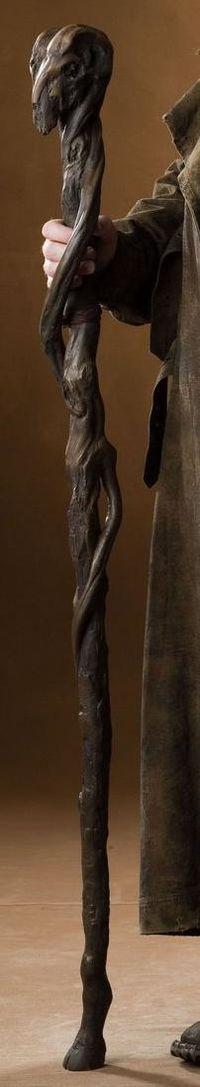 Not a sword, but still badass. Madeye Moody's walking stick