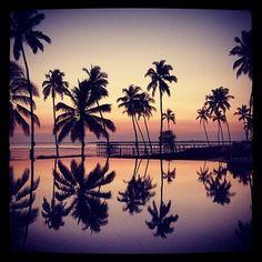 Sunset in Zanzibar. Photo courtesy of exploremoreworld on Instagram.