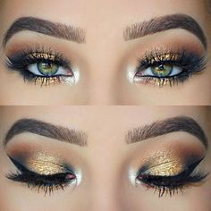 Seven Awesome Makeup Tutorials For Green Eye | trends4everyone