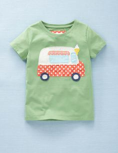 T-shirt Appliqué Boden