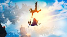 Filename: BioShock Infinite game wallpaper Resolution: File size: 399 kB Uploaded: Holmes Young Date: Bioshock Infinite, Video Game News, Video Games, Steampunk Background, Steampunk Wallpaper, Irrational Games, Infinite Game, Free Background Music, Main Theme