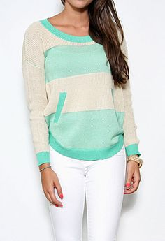 Long Sleeve Knit Top More Colors Available