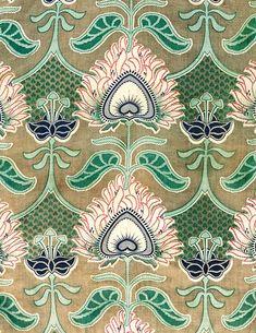 Russian Print Fabric (1900) | Susan Meller