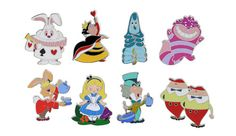 Alice Stylized Mystery Set Retail Price: $14.95 Walt Disney World Release Date: October 30