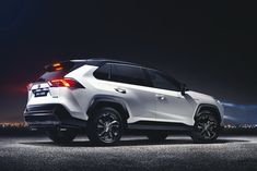 Toyota has revealed the all-new, fifth generation SUV at the 2018 New York Auto Show. As well as being the first to be built on the Toyota New Global Architecture (TNGA) platform, the car's exterior design gets a harder, more chiselled look […] Toyota Rav4 2019, 2019 Rav4, Peugeot 2008, Toyota Rav4 Hybrid, Automobile, New York, Car Posters, Car Prices, Japan