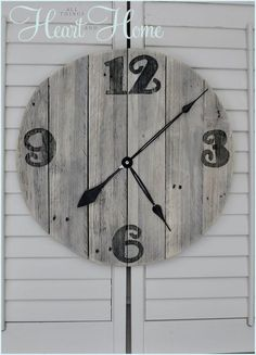1000 images about beach on pinterest beach huts kids for Clock mechanisms for craft projects