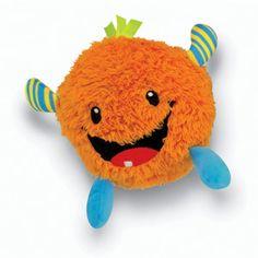 Fisher-Price Giggle Gang Baby Giggles Plush, Orange