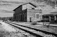 Old Train station of Evrychou my hometown, Cyprus