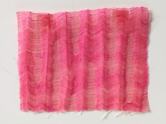 RISD Museum: Arnold Print Works, American, 1861 - Textile swatch, Gift of Jacob Ziskind, the. Fine Art Textiles, Textile Art, Textile Patterns, Fabric Art, Swatch, Weaving, Objects, Embroidery, Blanket