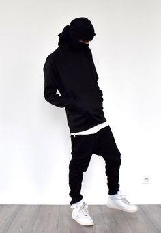 Mens clothing, fashion, men's street trend