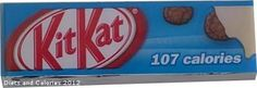 Kit Kat Cookies & Cream Kit Kat 107 calories