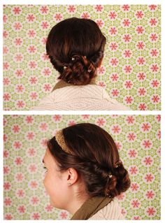 Princess Tuck Bun Tutorial with France Luxe on The Luxe Look