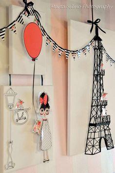 Paris Birthday Party Ideas | Photo 1 of 31