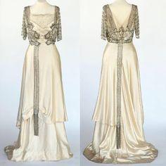 SEMPRE NA MODA: EVENING DRESS 1900 / 1955!