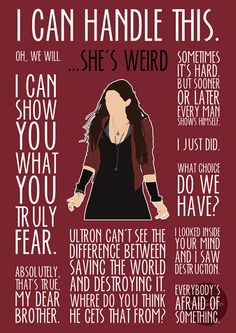 Scarlet Witch / Wanda Maximoff poster by MacGuffin Designs If there's enough call for it I will make these available to everyone on the shop: http://macguffindesigns.etsy.com