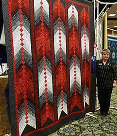 french braid quilt patterns | 2009 Rosettes ~ Photo Gallery ~ Canadian Quilters' Association ...