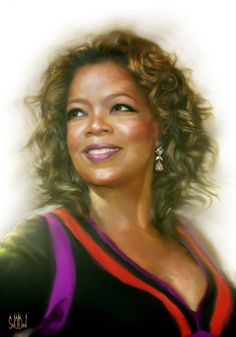 Oprah Winfrey by ~SoulOfDavid on deviantART {digital art}
