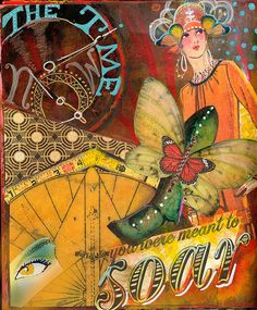 Soar by Andrea Matus, via Flickr, a journal page