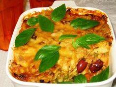Italian Beef Pasta Bake recipe