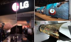 Transparent screens, rollable displays and 8K resolution: CES reveals the future of TVs | Highlights included a flexible prototype television screen by LG | LG's G6 and E6 series of TVs are fitted with transparent glass back | Samsung revealed world's first bezel-less curved TV - the KS9500 SUHD | Sony introduced Slim Backlight Drive technology for better image quality [Futuristic Displays: http://futuristicnews.com/tag/display/]