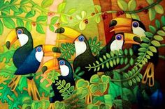 """VALDIR RIBAS RODRIGUES   São Caetano do Sul - São Paulo - Brasil      """"Una paleta llena de vida y color"""" (1)        VALDIR RIBAS RODRIGUES  ..."""