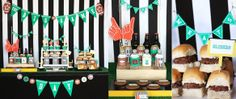 The Sugar Bee Bungalow: {Party Bee} Awesome Super Bowl Dessert Tables