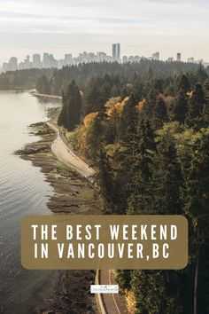 Looking for tips on how to spend 48 hours in Vancouver? From public markets to urban green spaces, lively neighbourhoods and family attractions, how to enjoy a fun and active weekend in Vancouver. West Coast Cities, British Columbia, Columbia Travel, Vancouver Travel, Best Family Vacations, Canada Travel, Pacific Northwest, Travel Tips, The Neighbourhood