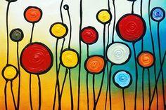 pinturas abstratas…