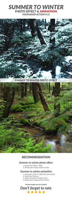 Summer to Winter V1 Photoshop Action - Photo Effects Actions | Download: http://graphicriver.net/item/summer-to-winter-v1-photoshop-action/16647282?ref=sinzo