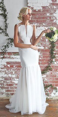Perfectly Barbara Kavchok Wedding Dresses 2018 ★ See more: https://weddingdressesguide.com/barbara-kavchok-wedding-dresses/ #nails