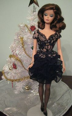 Trace of Lace Barbie at Christmastime! By Lacey705 | Barbie Collector